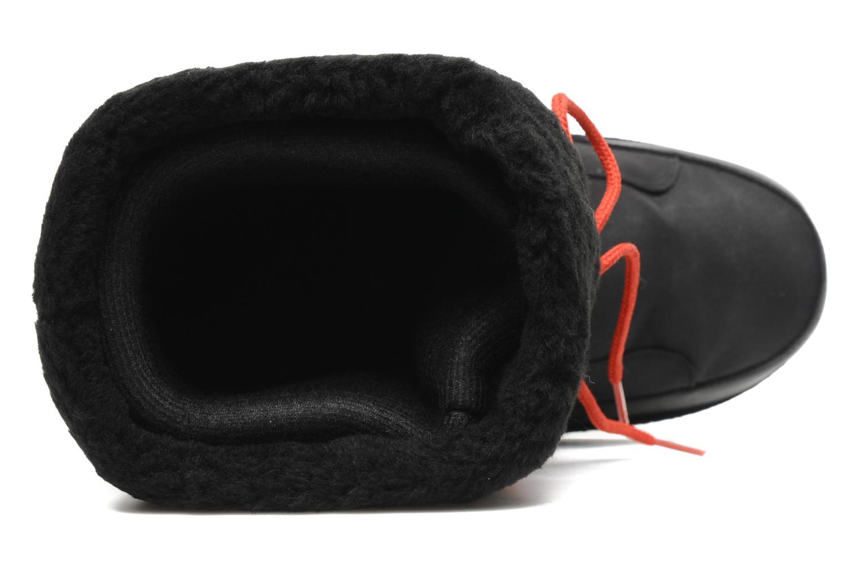 Snow Boot Cœur Noir et Rouge