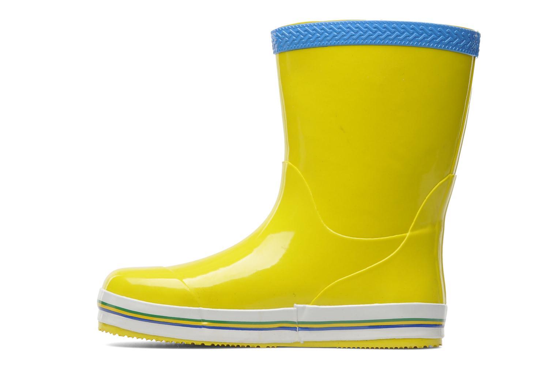 Stiefel Havaianas Aqua Kids Rain Boots gelb ansicht von vorne