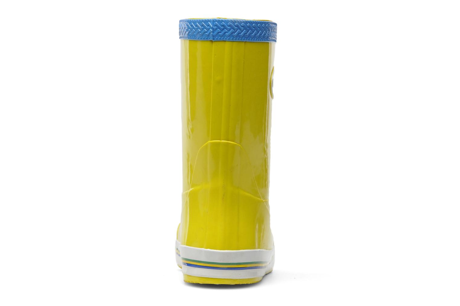 Boots & wellies Havaianas Aqua Kids Rain Boots Yellow view from the right