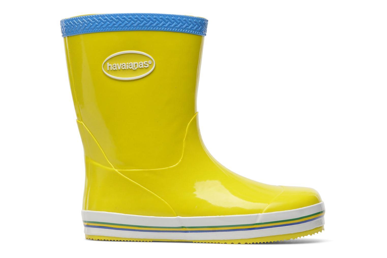 Stiefel Havaianas Aqua Kids Rain Boots gelb ansicht von hinten