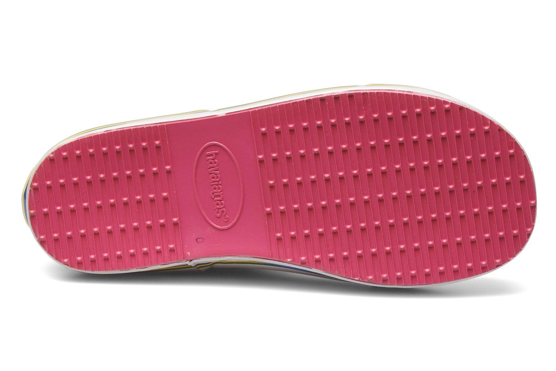 Stiefel Havaianas Aqua Kids Rain Boots rosa ansicht von oben