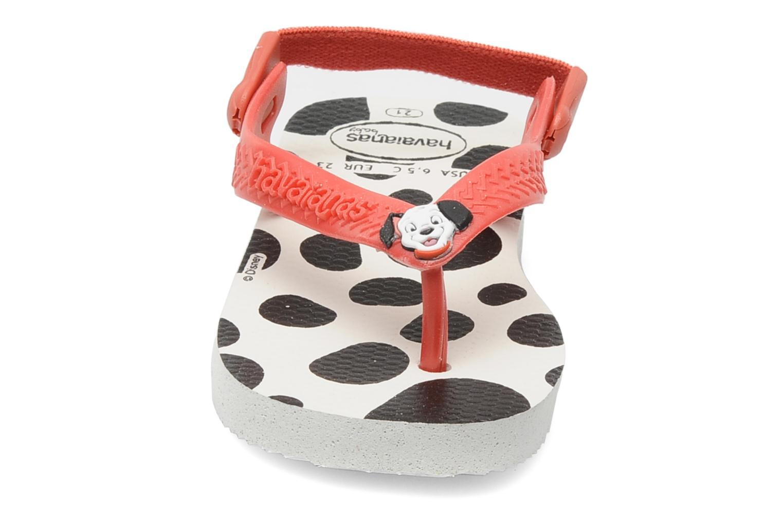 Tongs Havaianas Baby Disney Classic Multicolore vue portées chaussures