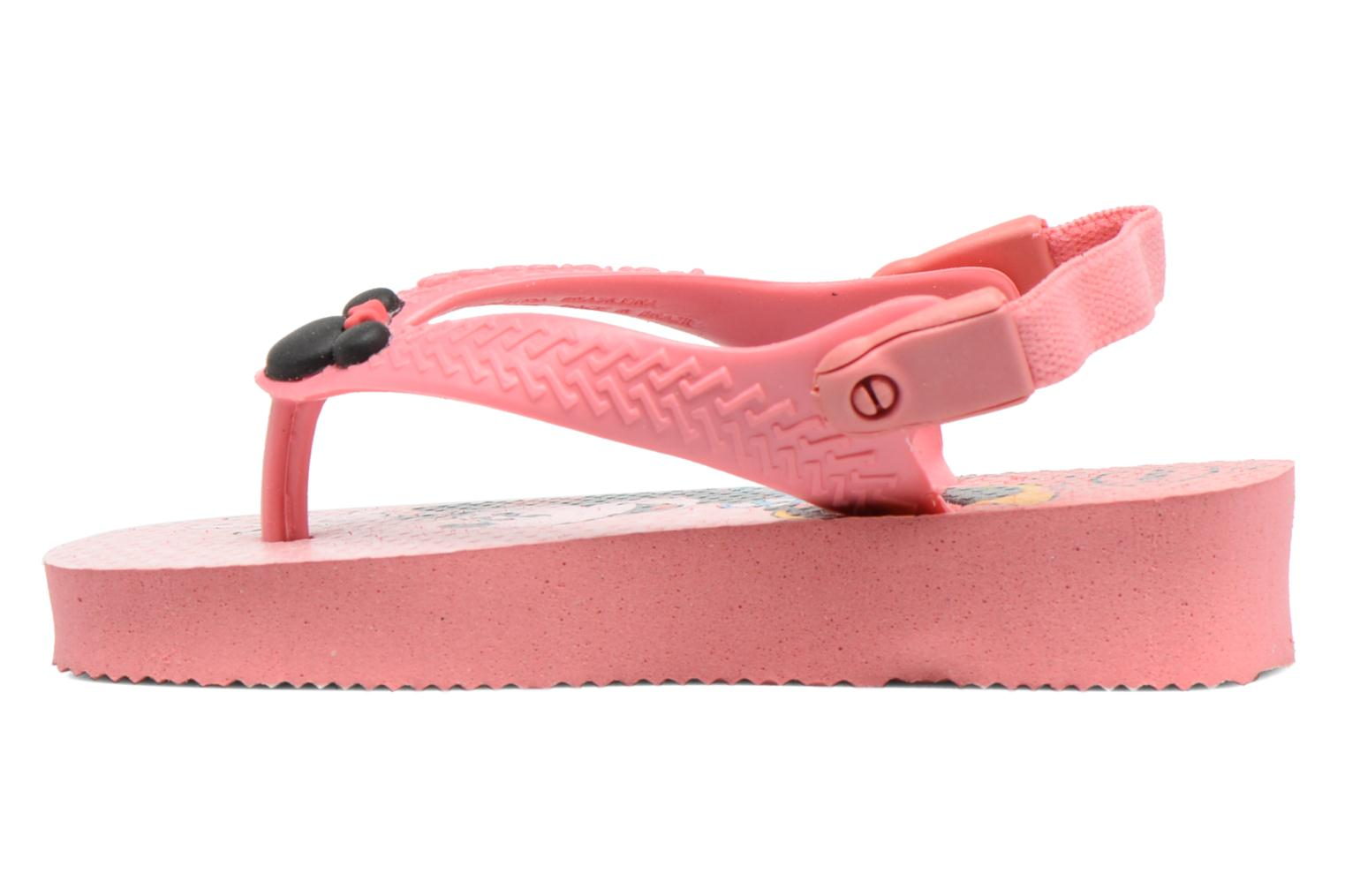 Tongs Havaianas Baby Disney Classic Rose vue face