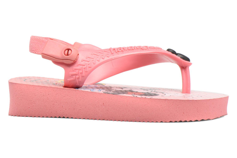 Flip flops Havaianas Baby Disney Classic Pink back view