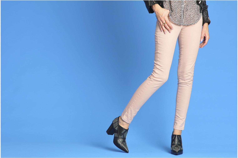 Bottines et boots See by Chloé Sharon Noir vue bas / vue portée sac