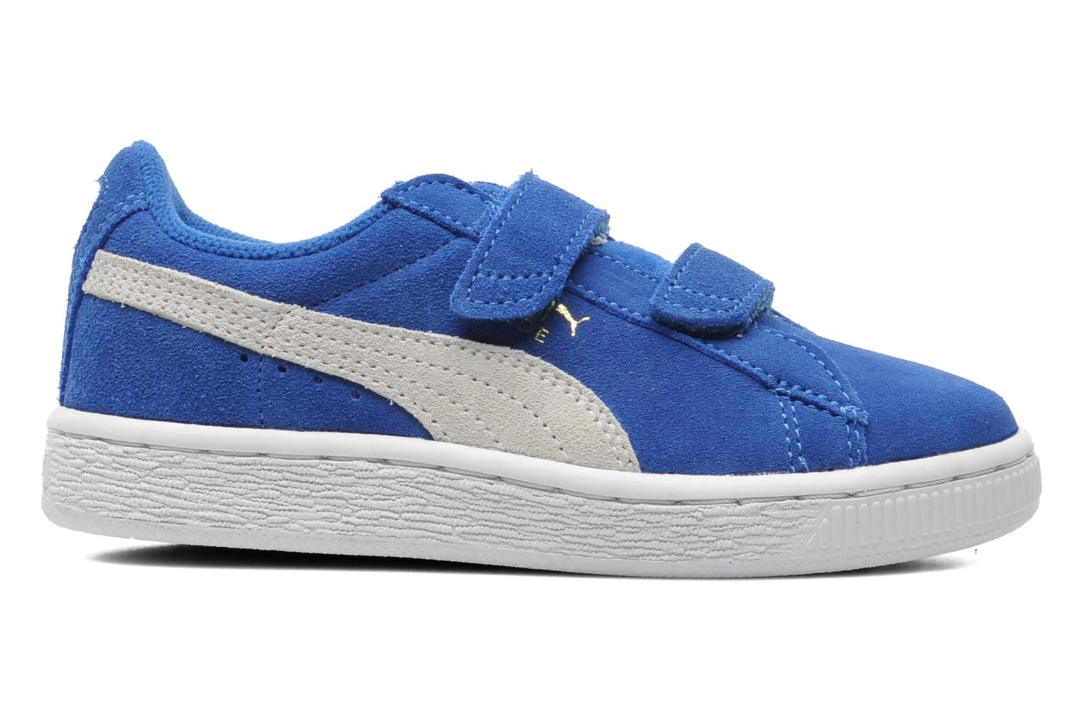 Trainers Puma Suede 2 Straps Kids. Blue back view