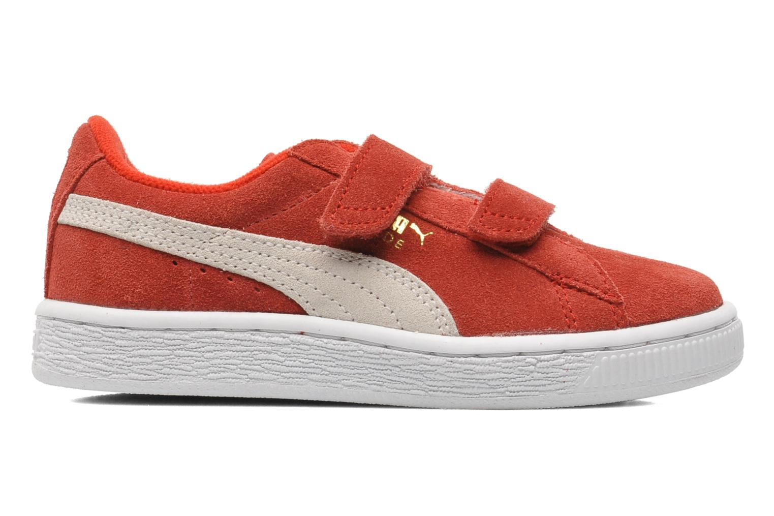 Trainers Puma Suede 2 Straps Kids. Red back view