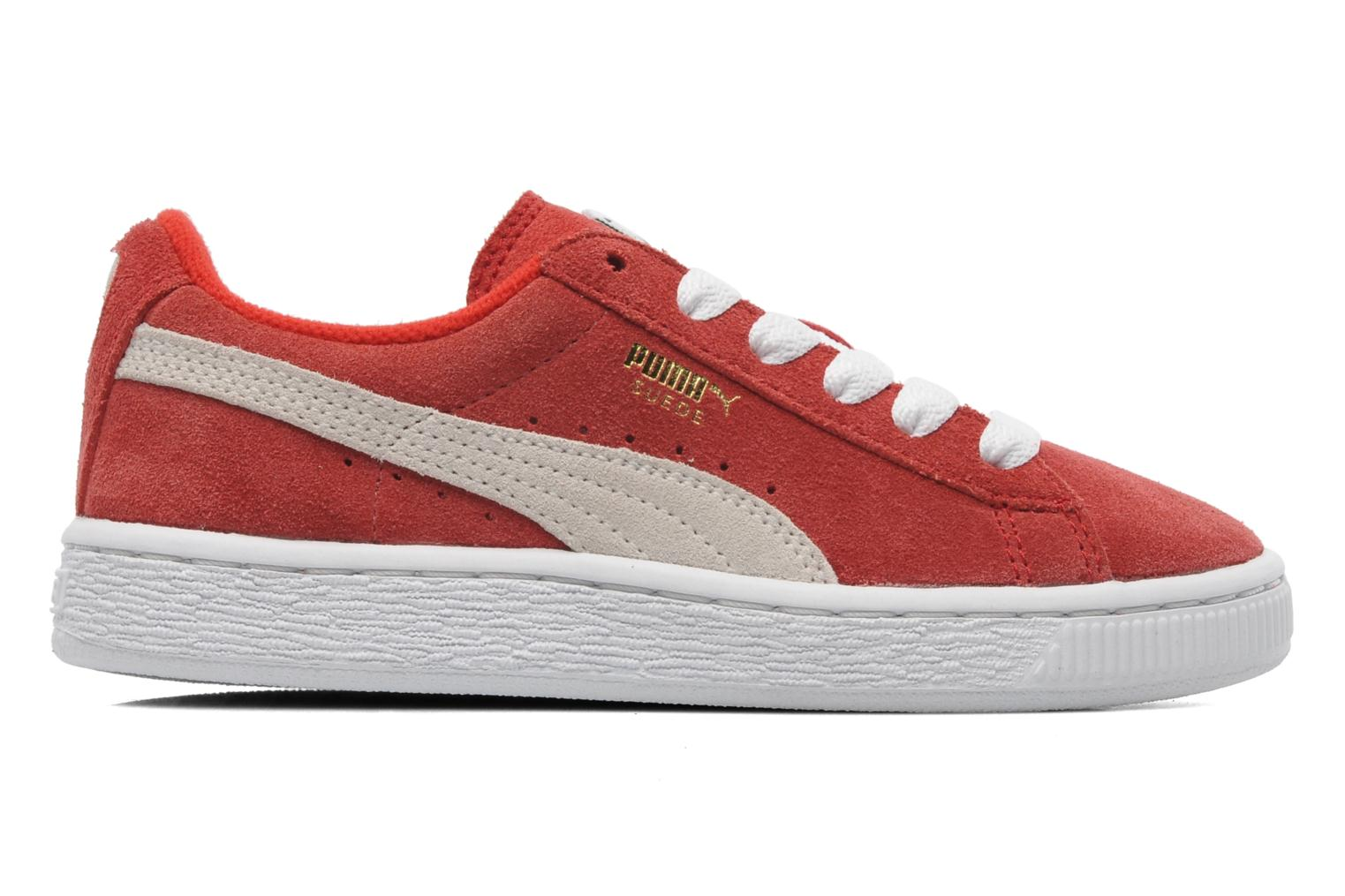 Suede Jr. Red-White