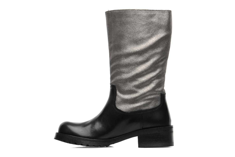 Ankle boots Pastelle Petalo Black front view