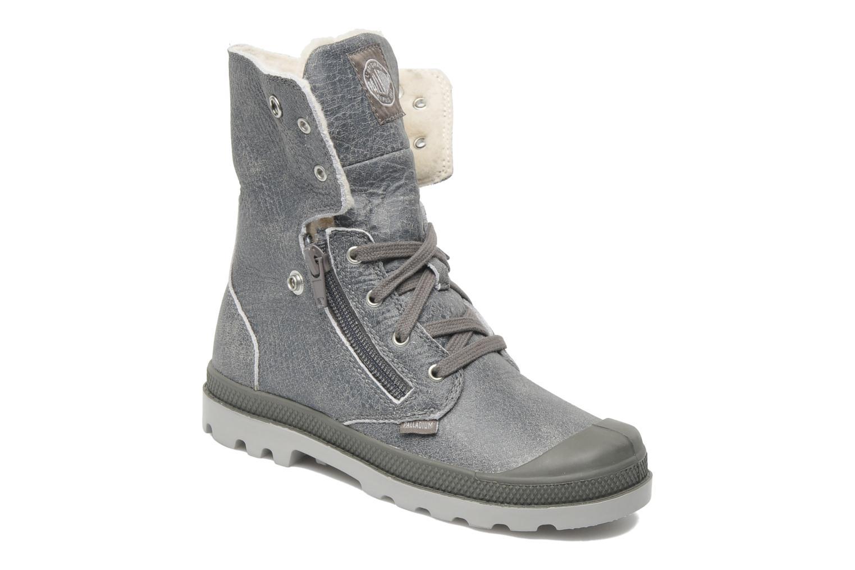 Stiefeletten & Boots Palladium Baggy Leather K grau 3 von 4 ansichten