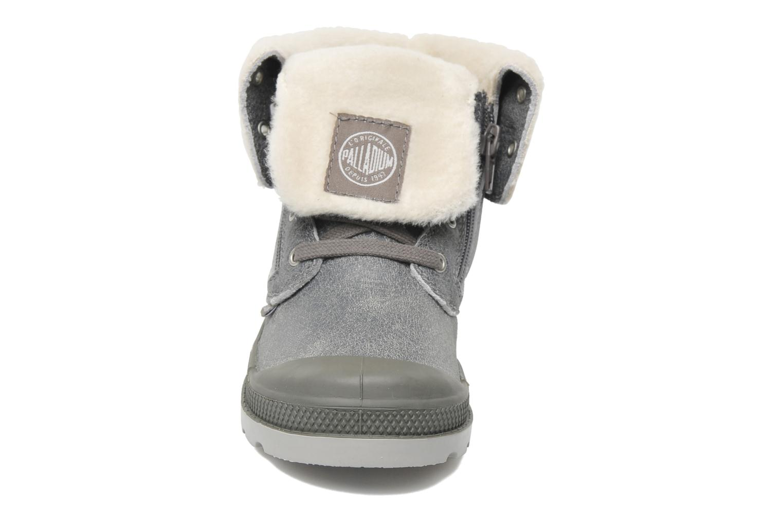 Stiefeletten & Boots Palladium Baggy Leather K grau schuhe getragen