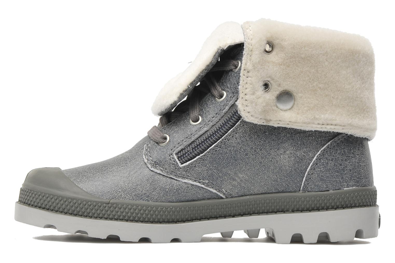 Stiefeletten & Boots Palladium Baggy Leather K grau ansicht von vorne