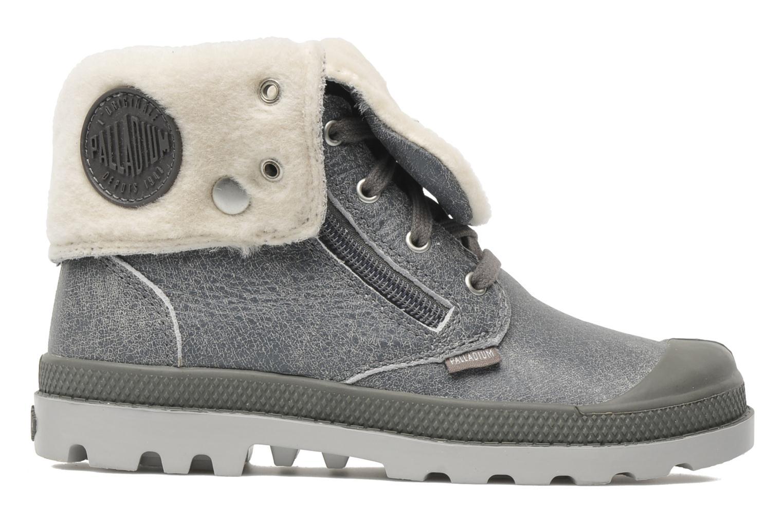 Stiefeletten & Boots Palladium Baggy Leather K grau ansicht von hinten