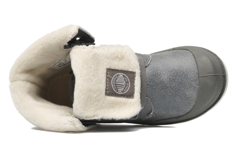 Bottines et boots Palladium Baggy Leather K Gris vue gauche