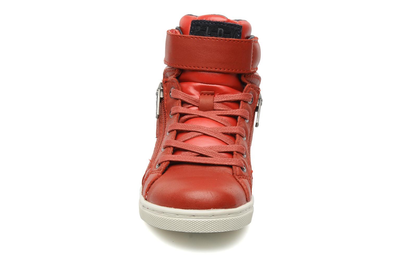 Baskets P-L-D-M By Palladium Veleda TFL Rouge vue portées chaussures