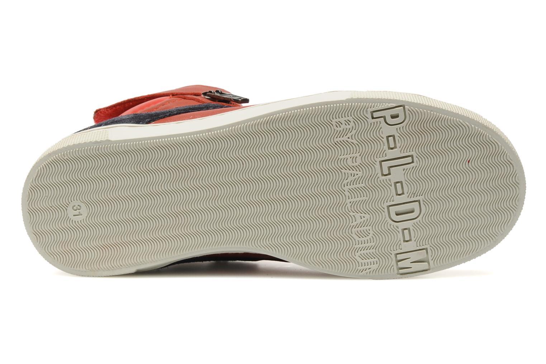 Sneaker P-L-D-M By Palladium Veleda TFL rot ansicht von oben