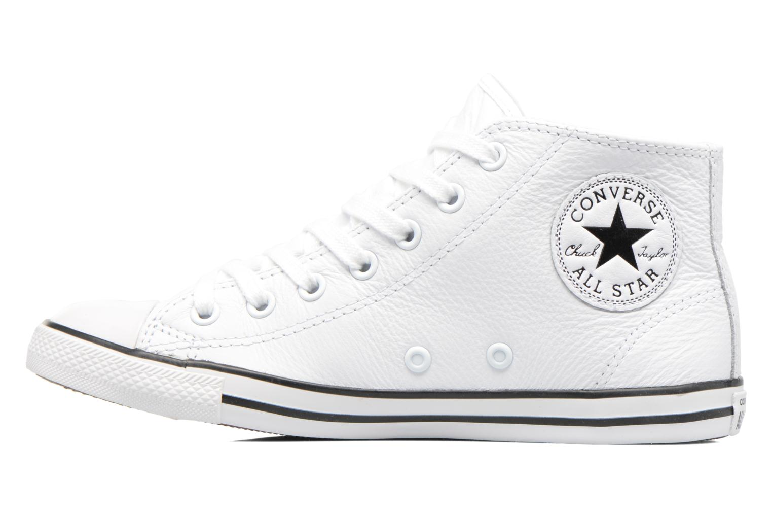 Baskets Converse All Star Dainty Mid W Blanc vue face