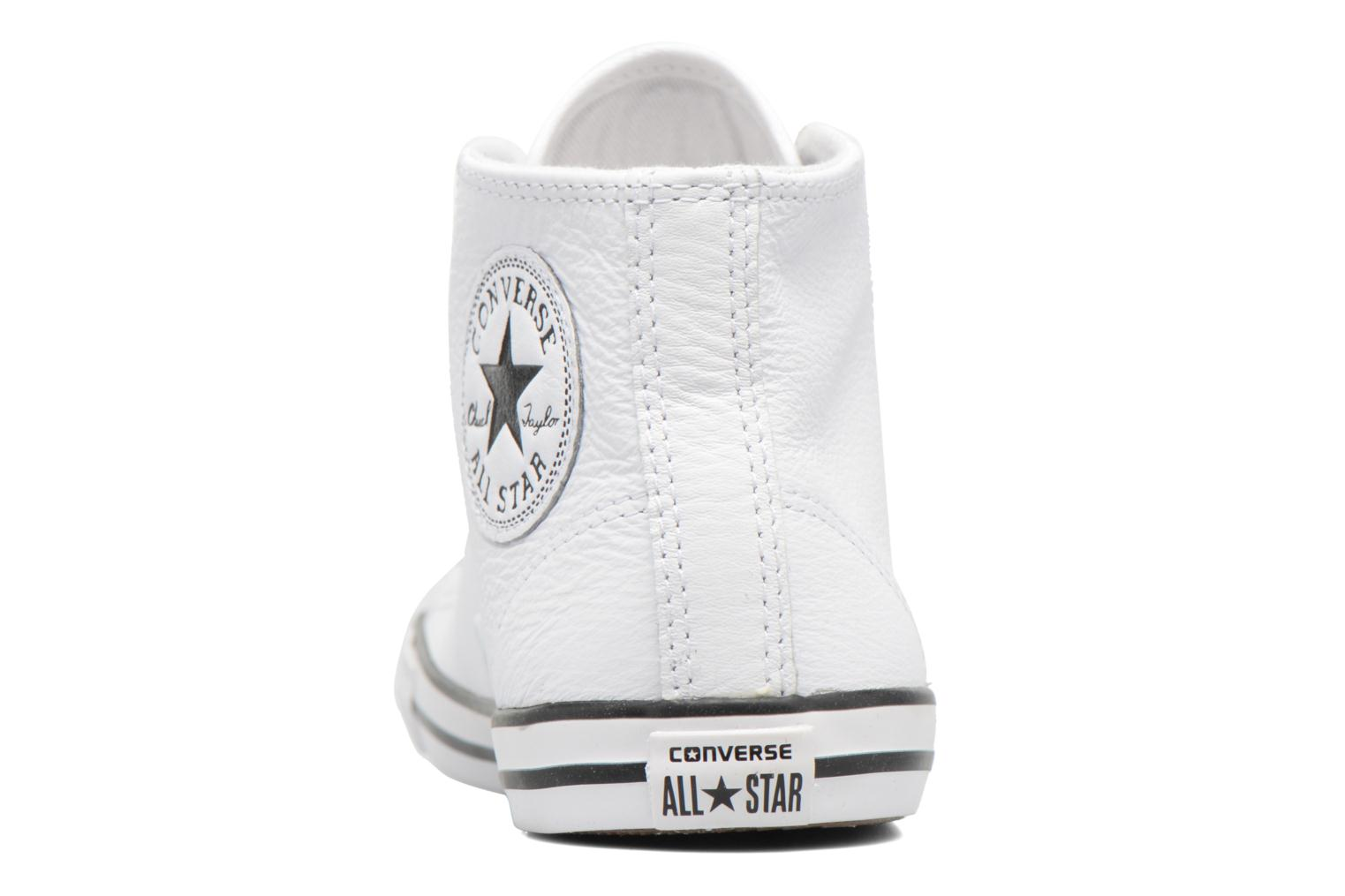 Baskets Converse All Star Dainty Mid W Blanc vue droite