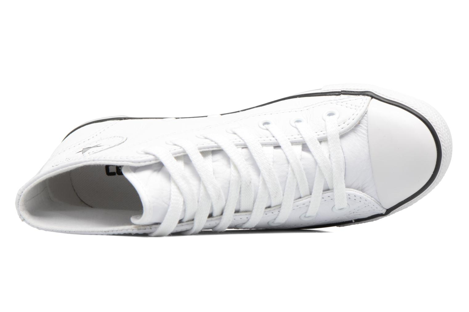 Baskets Converse All Star Dainty Mid W Blanc vue gauche