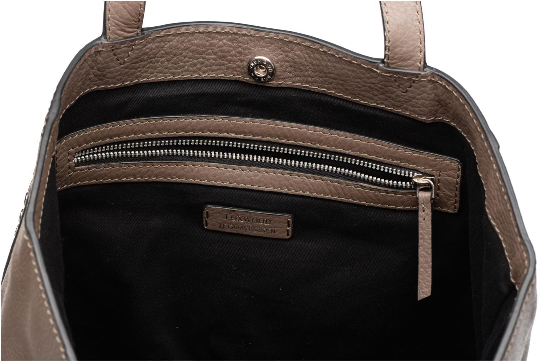 Handtaschen Loxwood CABAS PARISIEN M Clouté Cuir grainé braun ansicht von hinten