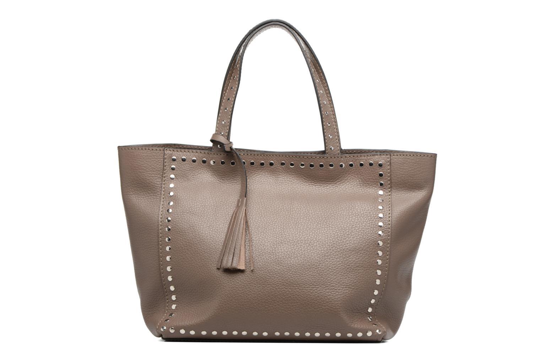 Handtaschen Loxwood CABAS PARISIEN M Clouté Cuir grainé braun detaillierte ansicht/modell