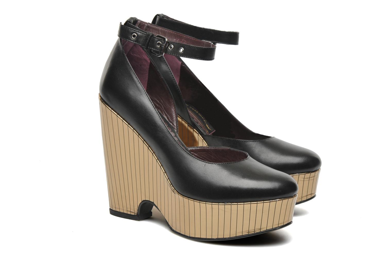 High heels Opening Ceremony Bellagio Platform Black 3/4 view