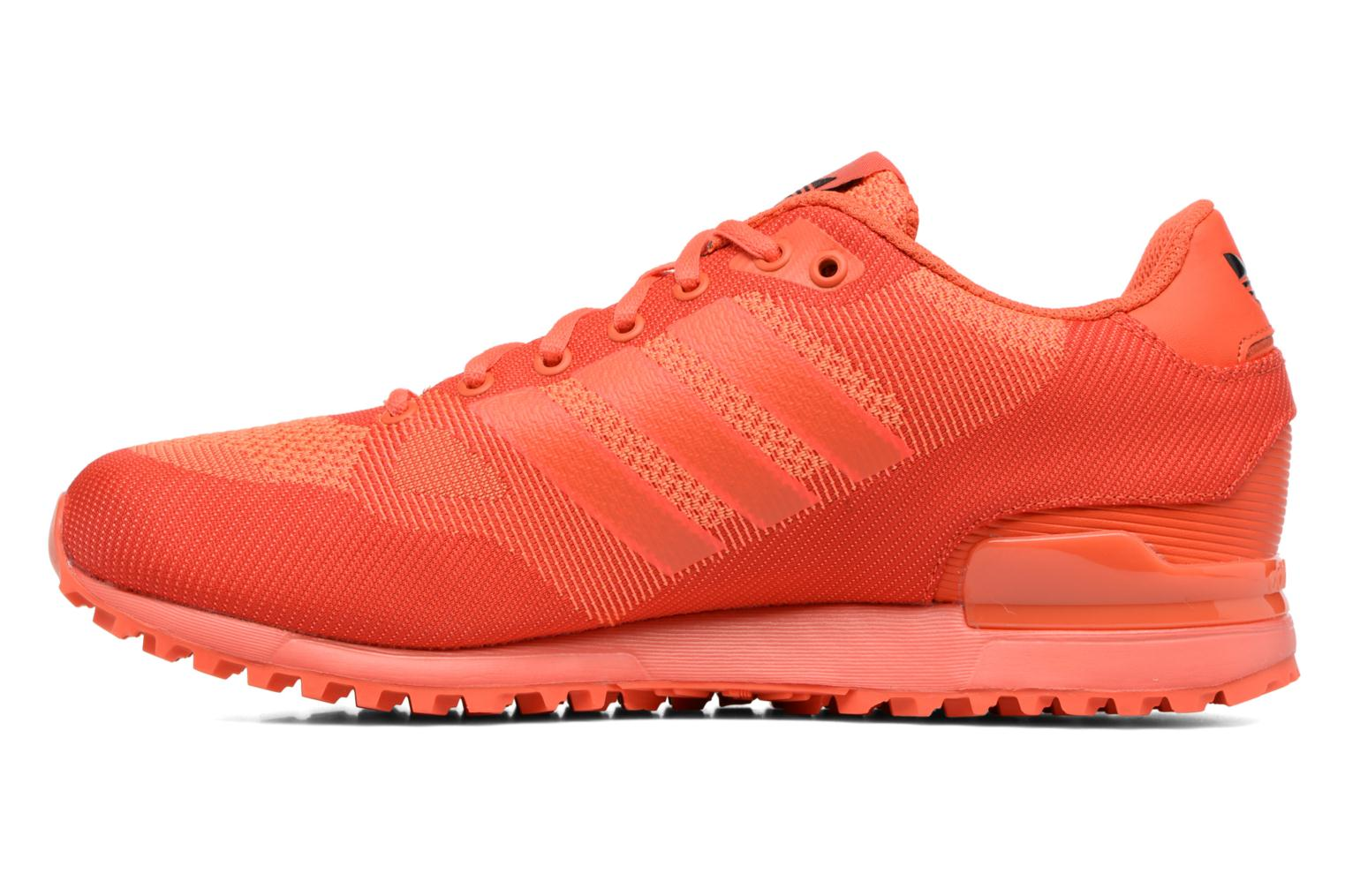 Trainers Adidas Originals Zx 750 Red front view