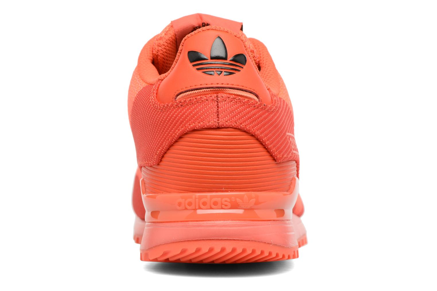 Trainers Adidas Originals Zx 750 Red view from the right