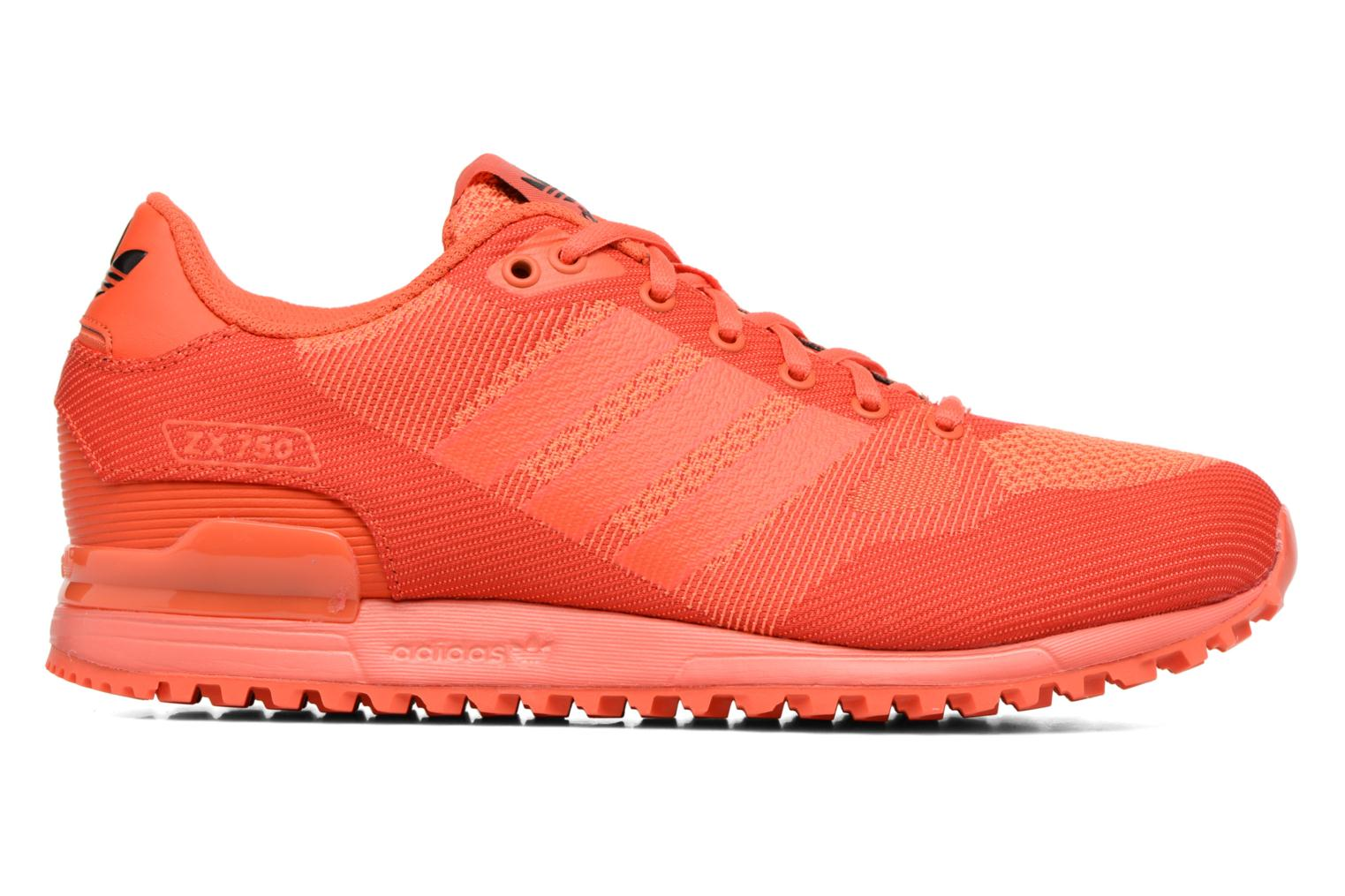 Trainers Adidas Originals Zx 750 Red back view