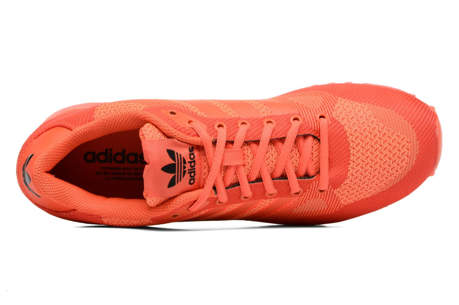 Trainers Adidas Originals Zx 750 Red view from the left