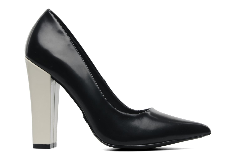 Calista Black / White Leather