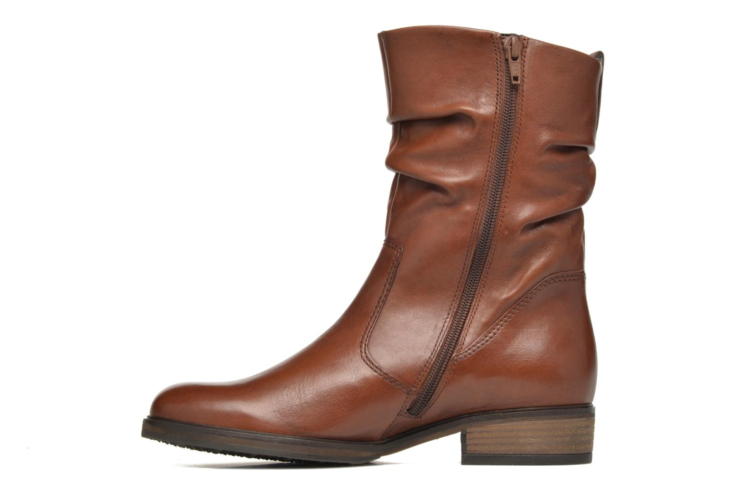 Bottines et boots Gabor Genua Marron vue face