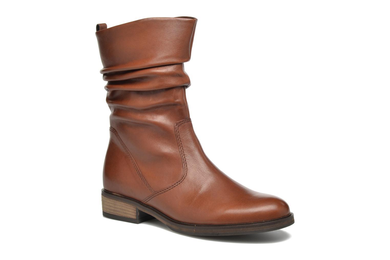 Ankelstøvler Gabor Genua Brun detaljeret billede af skoene