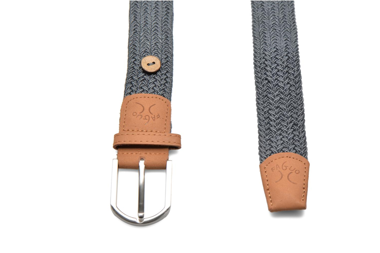 Gürtel Faguo Gürtel Belt grau schuhe getragen