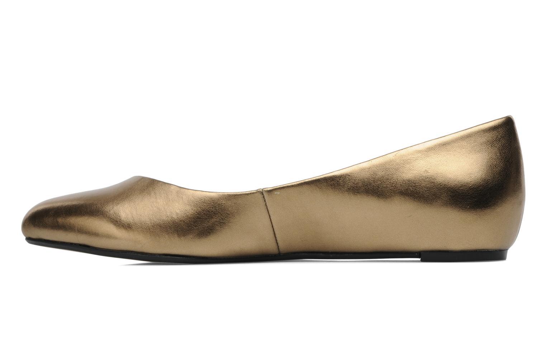 Bailarinas Esprit Lyra Ballerina Oro y bronce vista de frente