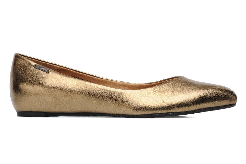 Bailarinas Esprit Lyra Ballerina Oro y bronce vistra trasera