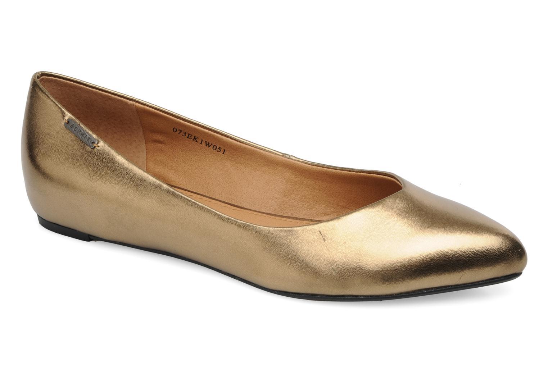 Bailarinas Esprit Lyra Ballerina Oro y bronce vista de detalle / par