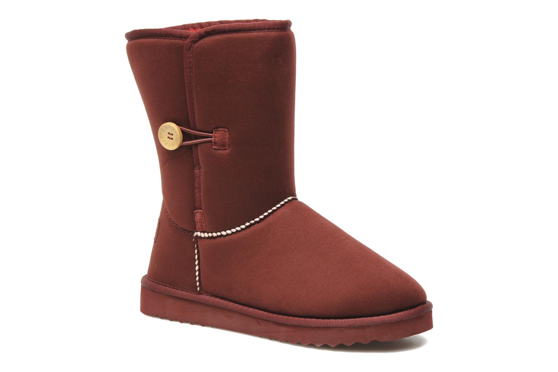 esprit uma button bordeaux bottines et boots chez sarenza 145647. Black Bedroom Furniture Sets. Home Design Ideas