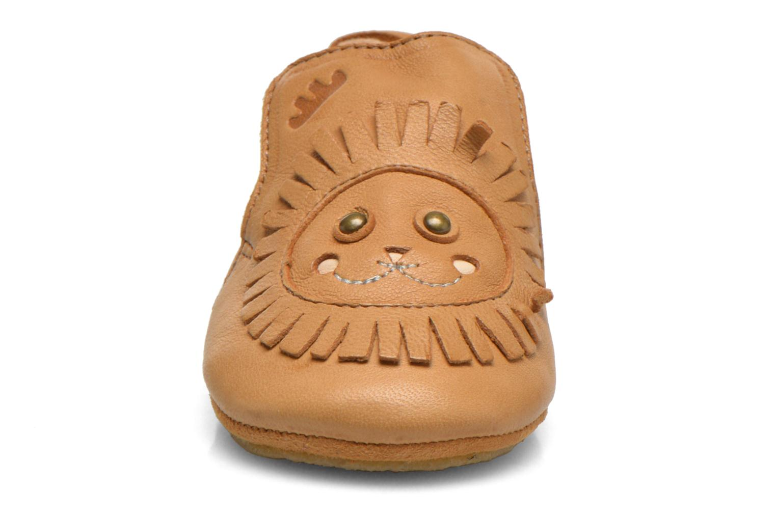 Chaussons Easy Peasy Blublu Lion Beige vue face