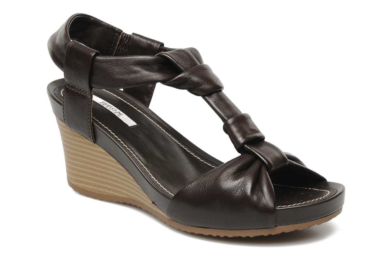 Geox DONNA Rorie (Marrone) - Sandali e scarpe aperte chez Sarenza ... 3379e50301a