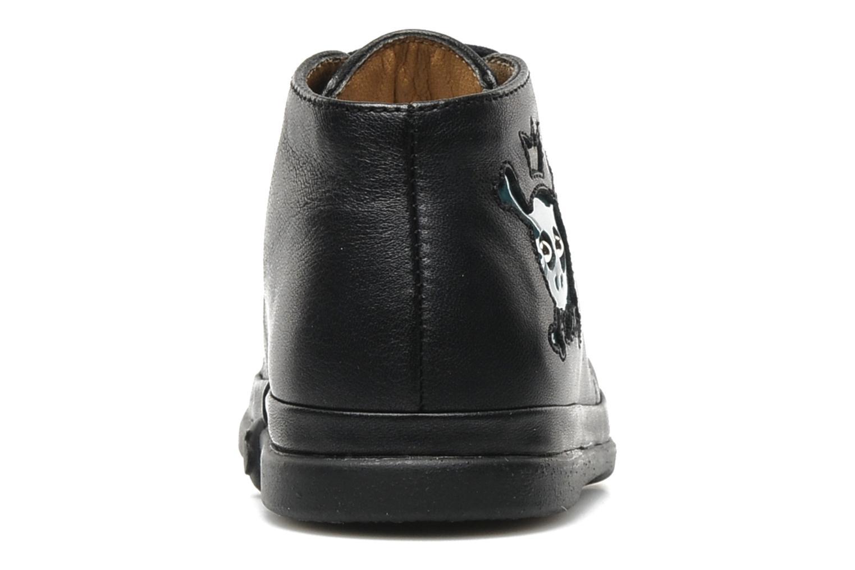 Bottines et boots Pom d Api Newflex Skull Noir vue droite