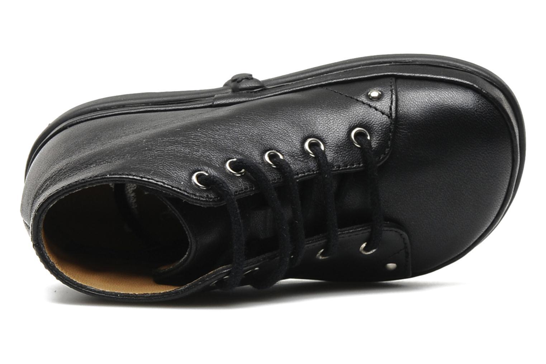 Bottines et boots Pom d Api Newflex Skull Noir vue gauche