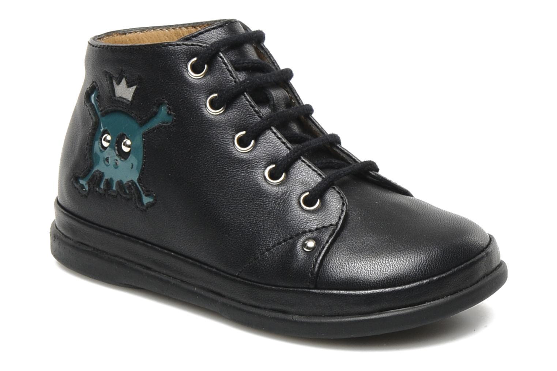 Bottines et boots Pom d Api Newflex Skull Noir vue détail/paire