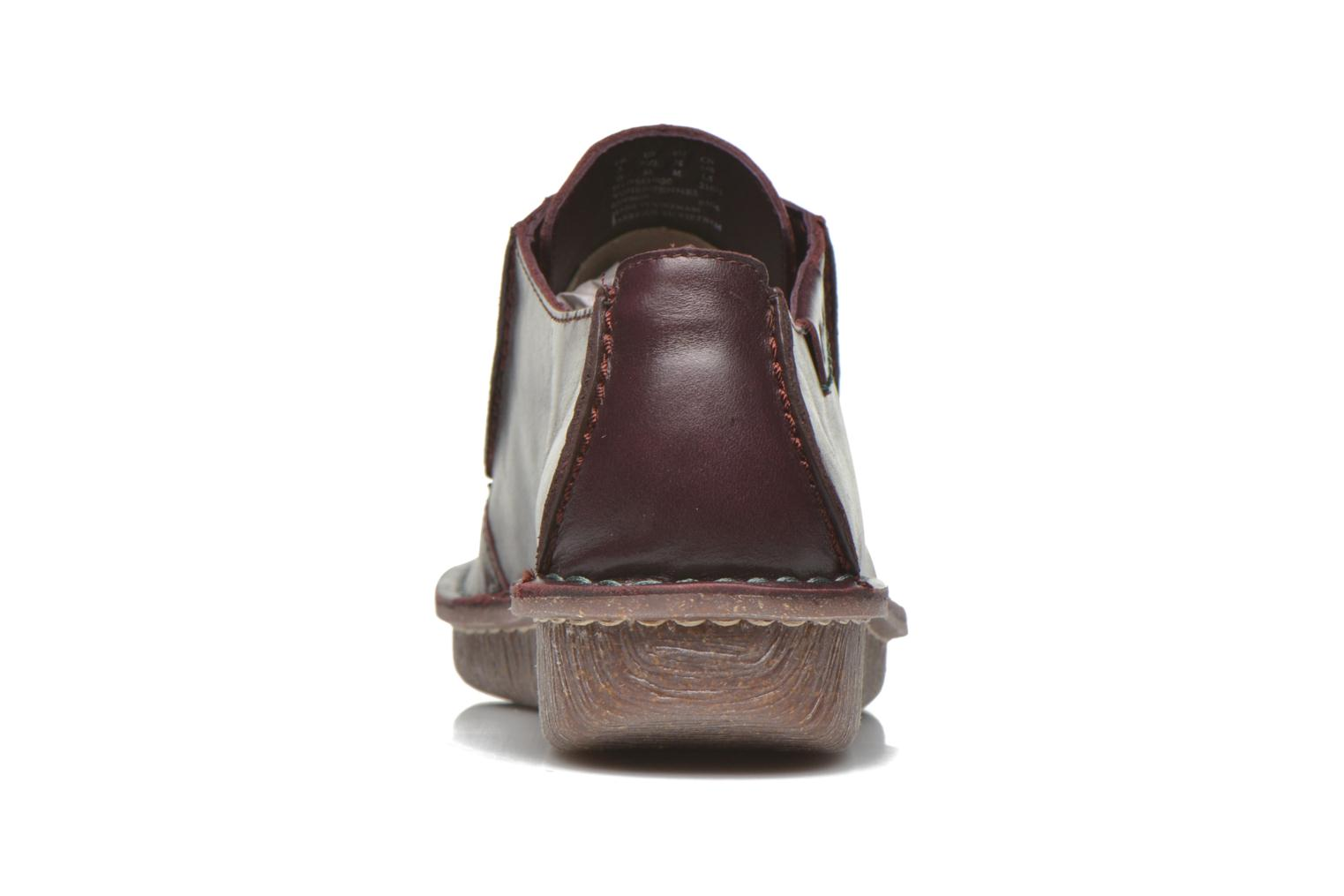 Lace-up shoes Clarks Funny Dream Burgundy view from the right