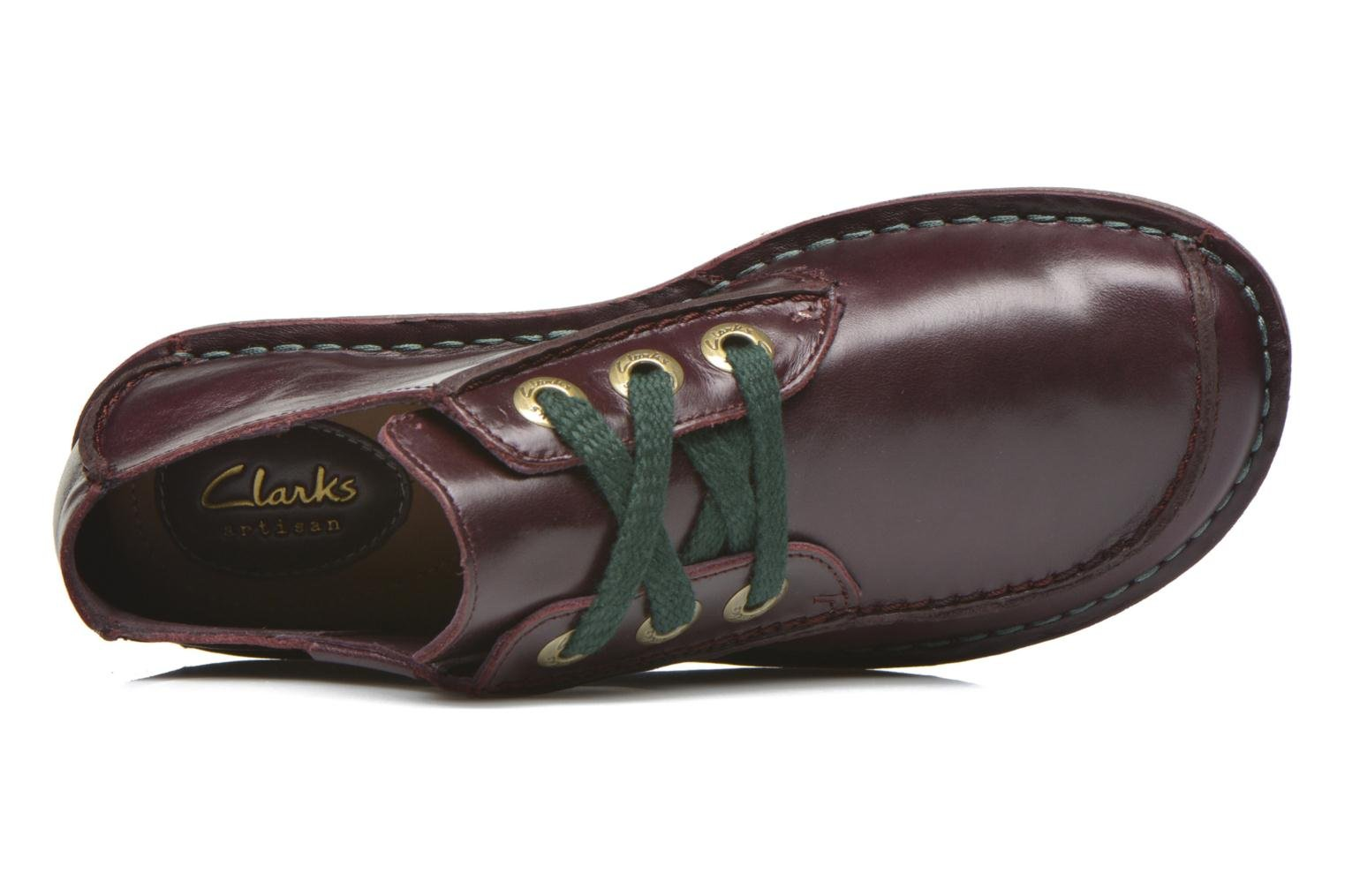 Veterschoenen Clarks Funny Dream Bordeaux links