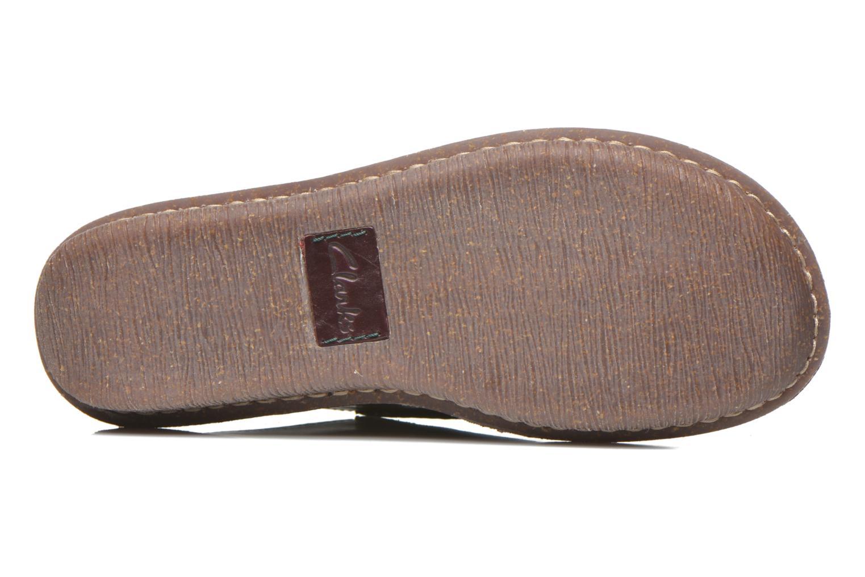 Chaussures à lacets Clarks Funny Dream Bordeaux vue haut