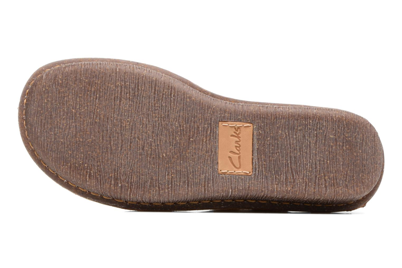 Zapatos con cordones Clarks Funny Dream Beige vista de arriba
