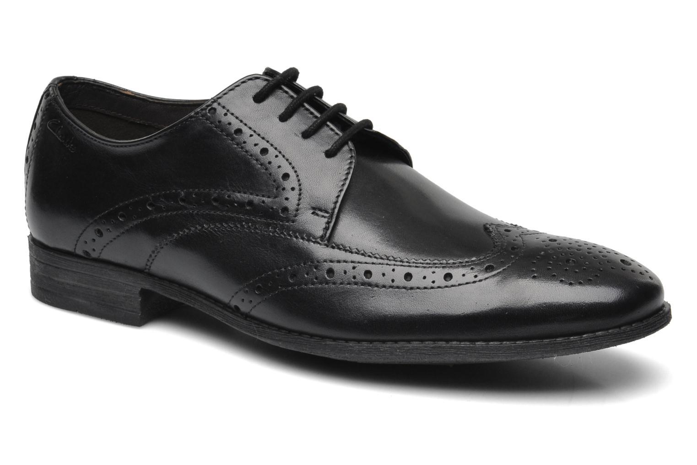 Clarks Chart Limit (Noir) - Chaussures à lacets chez Sarenza (195323)