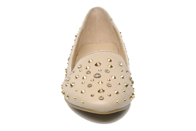 Mocassins Aldo Laverna Beige vue portées chaussures