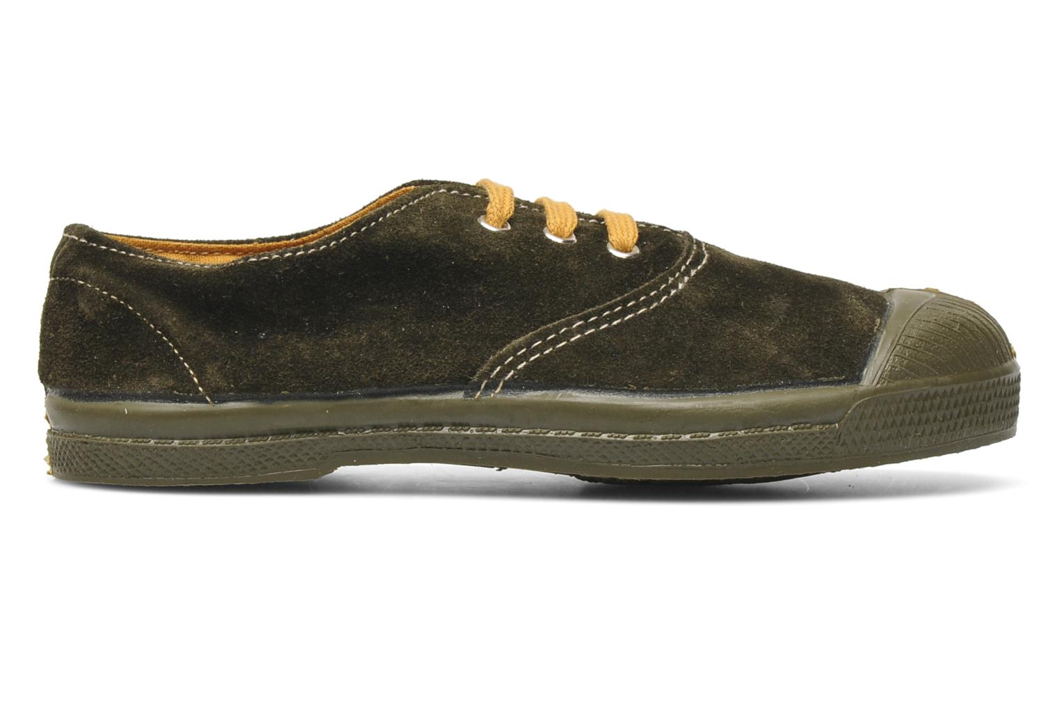 Trainers Bensimon Tennis Suedes Unies E Brown back view